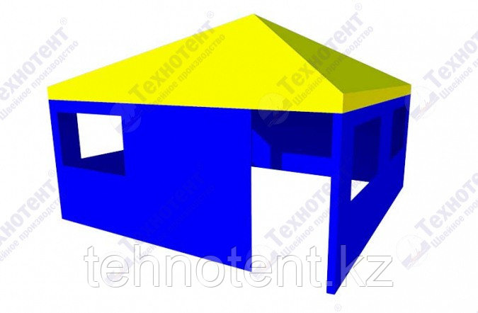"""Павильон шатер с пирамидальной крышей """"5x5"""""""