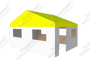 Павильон 4х6 м с 2-скатной крышей