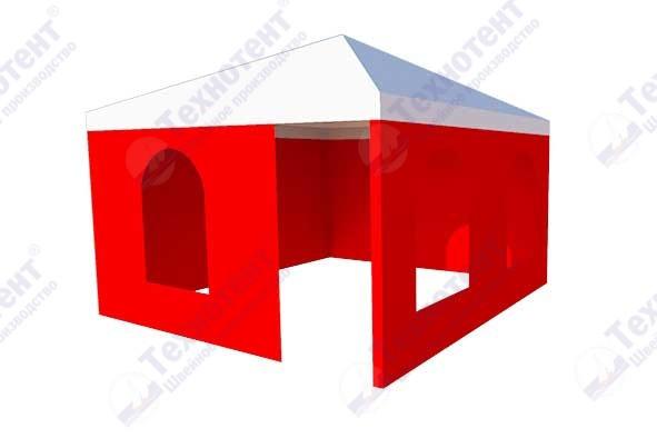 """Павильон шатер с пирамидальной крышей """"4x4"""""""