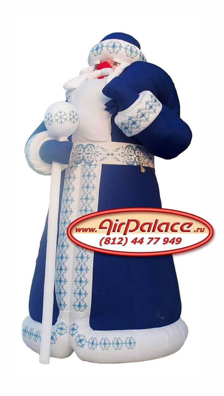 Надувной Дед Мороз VIP от производителя по доступным ценам 6 м