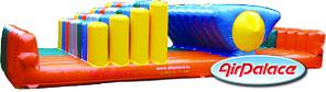 Качалка - надувная полоса препятствий 8*3,7*1,7 м