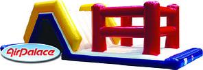 Стена - надувная полоса препятствий 8*3,2*3 м