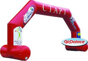 Арка Старт-Финиш Спортивная прямоугольная для мероприятий 10*5*2,4 м