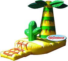 Надувной аттракцион Остров с пальмой 3,9*2,0*2,5 м