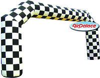 Арка Шахматная прямоугольная для мероприятий 10*5 м