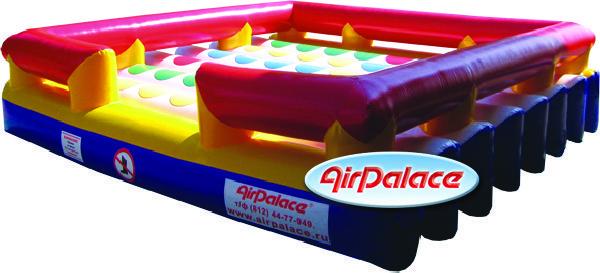 Твистер надувной для спортивной игры 4,4*4,4*1,1 м
