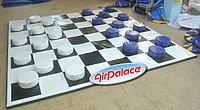 Шашечки мягкие для спортивных игр 3,2*3,2 м; шашка диаметр 0,3 м, высота 0,15 м