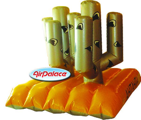 Надувной тир Кактус - спортивный аттракцион 2,7*1,9*1,8 м