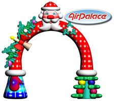 Надувная арка новогодняя 4,9*1,5*3,7 м