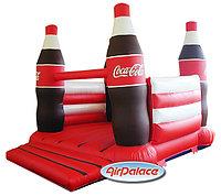 Надувная горка Кока-Кола