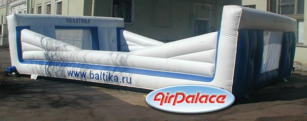 Рекламный аттракцион Банджи - бол «Балтика»