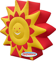 Надувное Солнце на Масленицу от производителя 3*0,8*0,3 м