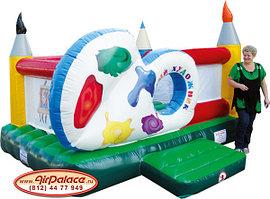 Веселый художник - детский батут от производителя 3,6*3,8*2,5 м по акции