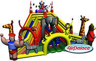 Надувная горка Цирк 7,5*9,4*6,7 м