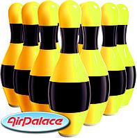 Мягкие кегли для спортивных командных игр высота 1,2 м 6 штук