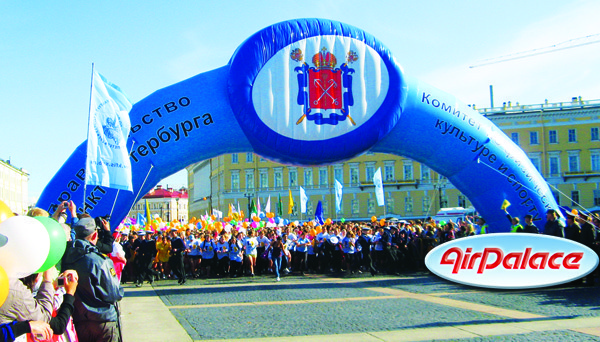 Арка Королевская - большая арка для мероприятий 15*2,2*8 м