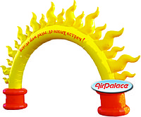 Арка Солнышко для проведения мероприятий 8*1,3*5,2 м