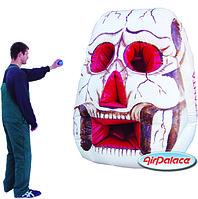 Надувной тир Череп - спортивный аттракцион 1,8*1,8*2,2 м