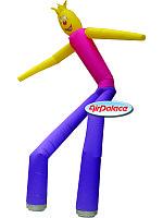 Пляшущий динамический мальчик надувная фигура 6 м
