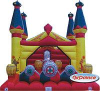 Надувной большой батут Замок Русь  6*5,3*5,8 м