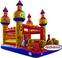 Надувной большой батут Рыцарский замок мини 4,5*4*3,5 м