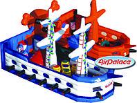 Надувной большой батут Пираты Карибского моря 11,5*10,3*6 м