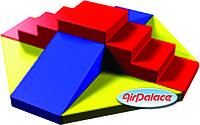 Горка подиум - мягкий спортивный аттракцион 2,6*2,6*0,8 м