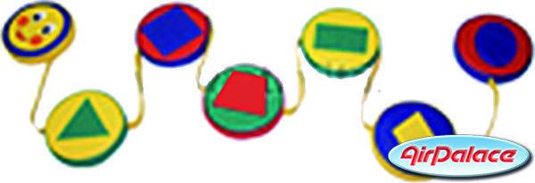 Змейка шагайка - мягкая спортивная игра 0,2 м