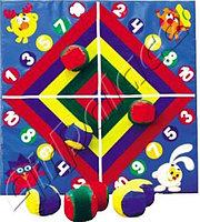 Детский дартс - развивающая игра для детей 0,8*0,8 м