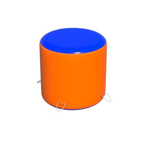 Надувная Бочка мини для пейнтбола