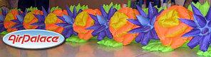 Цветочная пневмогирлянда Весенняя с раскрытием