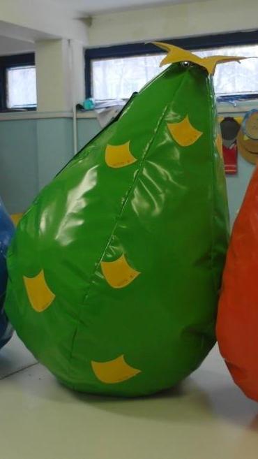 Ананас Бин-Бег - мягкое кресло для детей 1,0*0,67 м
