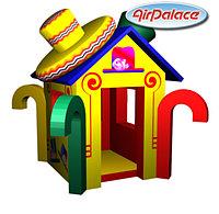 Лавка шляпника - мягкий игровой домик детский 2,3*2,2*2,3 м