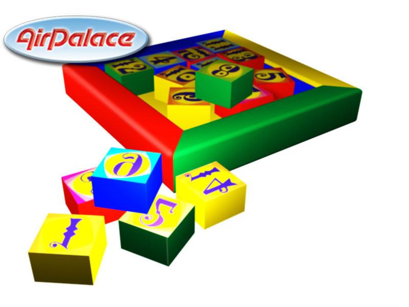 Пятнашки - мягкая игровая головоломка 1*1*0,1 м