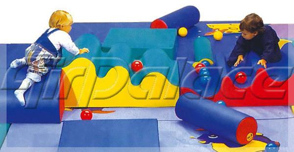 Родничок - мягкая развивающая игра детская 2,4*0,6*1,0 м