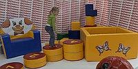 Цифровые дорожки - мягкие элементы для игр диаметр 0,5 м