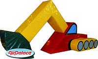 Экскаватор мини - мягкий безопасный для детей 1,0*0,5*0,5 м