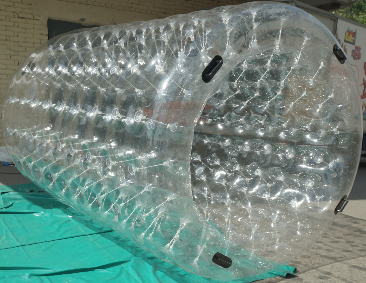 Водный цилиндр гидророллер 2,4*2,2 м
