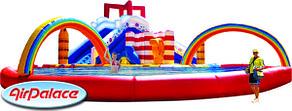 Надувной аквапарк Утенок 10*10*4,5 м