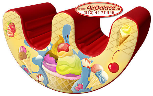 Вкусняшка - мягкая уютная качалка для детей 1,2*0,4*0,7 м