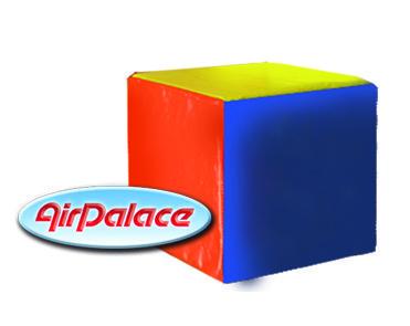 Деталь Куб - мягкий спортивный элемент 0,4*0,4*0,4 м