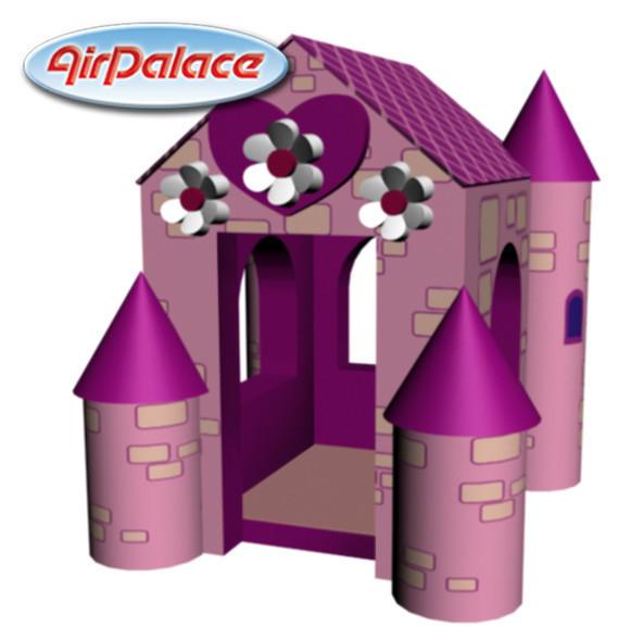 Домик принцессы - мягкий игровой для девочек 2,0*2,0*1,8 м