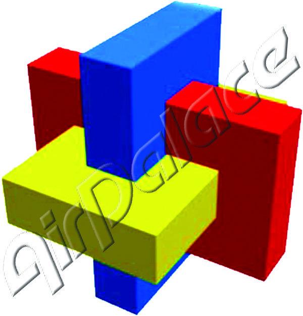 Косой узел - мягкая головоломка 1,2*0,5*0,5 м