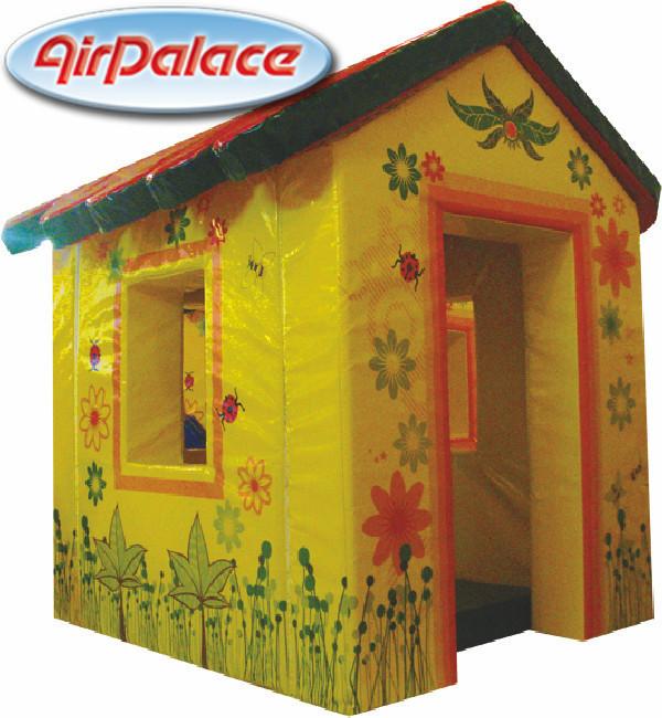 Лесная избушка - мягкий игровой домик для детей 1,4*1,2*1,6 м
