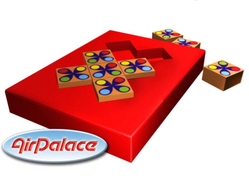 Мозайка - мягкий игровой модуль 1,5*1,5*0,1 м
