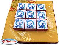 Мягкая детская мозаика Крестики-нолики 1,0*1,0*0,2 м