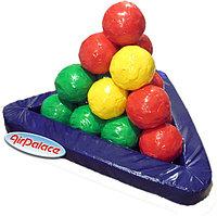 Пирамида из шаров - мягкая игровая конструкция 1,5*1,3*0,9 м
