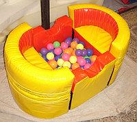 Сухой бассейн с шариками Лодочка-трансформер 1,0*0,6*0,5 м
