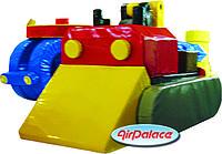 Трактор мини- мягкий безопасный детский 1,0*0,5*0,5 м