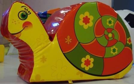 Улитка - мягкое безопасное кресло для детей 1,0*0,4*0,6 м
